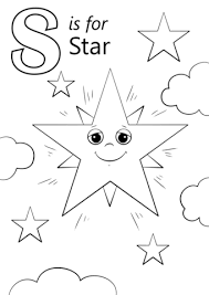 Small Picture Letter S is for Star coloring page Free Printable Coloring Pages