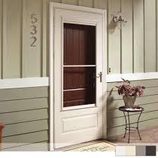 300 series 3 4 view self storing storm door