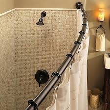 install curved shower curtain rod installation home wonderful bowed shower curtain rod amazing rods and rails install curved shower curtain