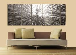 modern metal wall art kitchen