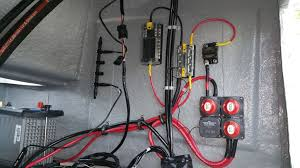 owners club inc rewiring electrical system my wiring is pretty much your diagram all my lights are led and i ran bilge directly to house 12 10 everything will be secured once i get hds and