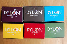Dylon Dye Colour Chart Dyeing Fabric The Linen Cat Blog