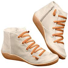 2019 New Arch Support Boots for Women Damping ... - Amazon.com