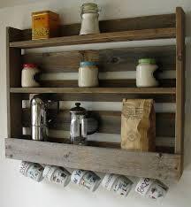 reclaimed wood mug rack urban rustic. \ Reclaimed Wood Mug Rack Urban Rustic E