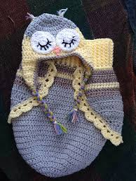 Baby Owl Cocoon Crochet Pattern Free