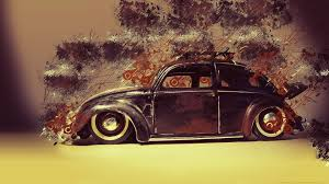 1920x1080 px artwork car classic car digital art lines low rider old car paint splatter painting