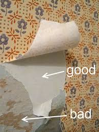 how to remove wallpaper step by step