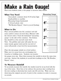 Make a Rain Gauge!   Parents   Scholastic.com