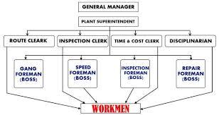 Functional Organization Nature Of Functional Foremanship