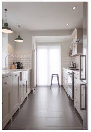 Gray Kitchen White And Gray Kitchen Subway Tiles Shaker Cabinets 12 X 24