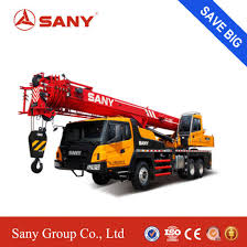 China Sany Stc250 25 Ton Mobile Crane Hoist China 25 Ton