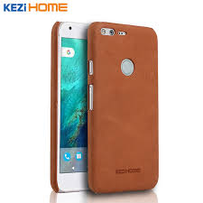 case for google pixel xl kezihome frosted genuine leather hard back cover capa for pixel xl