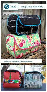 hanging about toiletry bag sewing