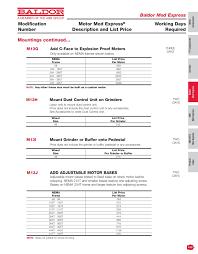 Baldor Motor Frame Chart Baldor Catalog Pages 451 500 Text Version Fliphtml5