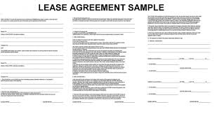 Lease Contract Template Template Lease Template Word Photo Document Commercial Agreement 1