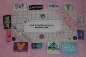 Memorial Quilts & Baby Clothes Queen Size Memorial Quilt Label Adamdwight.com