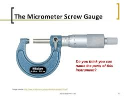 Type of measuring tools Micrometer Thinkstock Introductory Physics Physical Quantities Units And Measurement