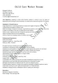 daycare director resume daycare manager resume sample child care samples example