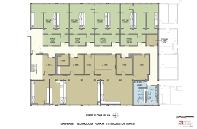 office space plans. perfect space floor plan of incubator  north first floor for office space plans