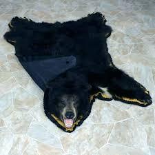 faux bear rug faux bear skin rug with head fake bear skin rug small size of faux bear rug