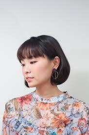 韓国現地ヘアスタイル韓国女性から持続的な人気のcカールボブヘア