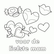 Mooie Moederdag Kleurplaten Leuk Voor Kids Kleurplaat Love Printen