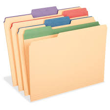 Pendaflex Colored Tab Manila File Folders 34 Folder Capacity