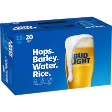 16 Ounce Bud Light Bud Light Beer 15 Pack 16 Fl Oz Cans Walmart Com