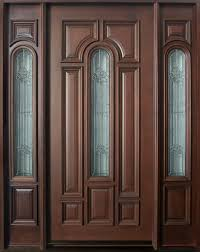 single front doors. Fine Front Mahogany Solid Wood Front Entry Door  Single With 2 Sidelites On Doors