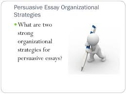 what you need to know to do your best high school writing  24 persuasive essay organizational strategies