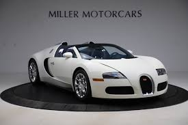 Shop, watch video walkarounds and compare prices on bugatti veyron listings. Pre Owned 2010 Bugatti Veyron 16 4 Grand Sport For Sale Special Pricing Aston Martin Of Greenwich Stock 8048