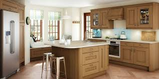 Oak Kitchen Top Oak Shaker Cabinet Doors With Quarter Sawn Oak Cabinets
