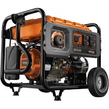 portable generators. Generac 6673, 7000 Running Watts / 8750 Starting Watts, Gas Portable Generator Generators C