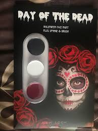 face paint new look day of the dead makeup kit image