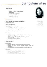 Resume Cv Meaning