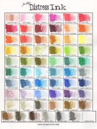 Distress Ink Color Chart 2017 Craftysaver Com Ranger