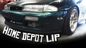 garage door seal lipHome Depot Lip 240sx  YouTube