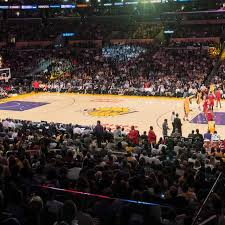 La Lakers Staples Center Seating Chart Los Angeles Lakers Tickets Gametime