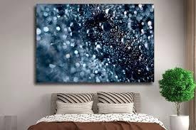 Abstract <b>water drops wall art</b> canvas prints Abstract wall | Etsy