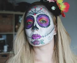 sugar skull makeup tutorial a you video and a linkup