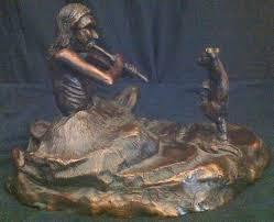 Bronze Hound's Art Collection: A Piece By Sculptor Alex LaFountain