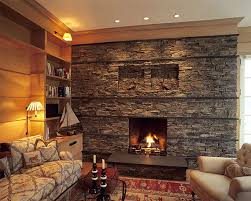 ... Stone fireplace with subtle nautical overtones View in gallery ...