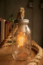 rope mason jar lights. Jar Light Rope Lamp More Lighting Idea Ball Mason Jars Lights Diy . S