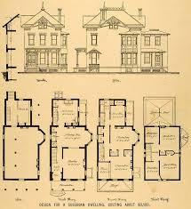 historic victorian house plans lovely 339 best vintage home plans images on of historic victorian