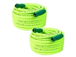 flexzilla garden hose with connections 5 8 inch x feet 2 in 75 ft flexzilla garden hose