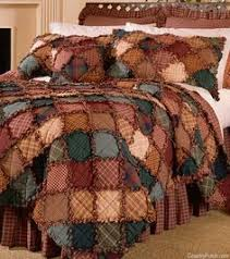C&fire Rag Quilt ~ nice warm tones...maybe made with flannel ... & Campfire Rag Quilt ~ nice warm tones...maybe made with flannel? Adamdwight.com