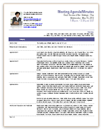 Office Meeting Minutes Template For Meeting Minutes Meeting Agenda Template