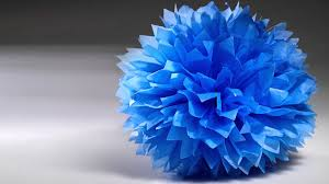 How To Make Fluffy Decoration Balls Fluffy Tissue Paper Decorations YouTube 10