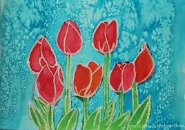 simple watercolor flowers tutorial