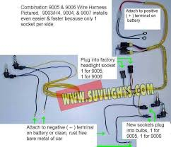 heavy duty headlight wire harness H4 Halogen Headlight Wiring Diagram 9007 Bulb Wiring-Diagram